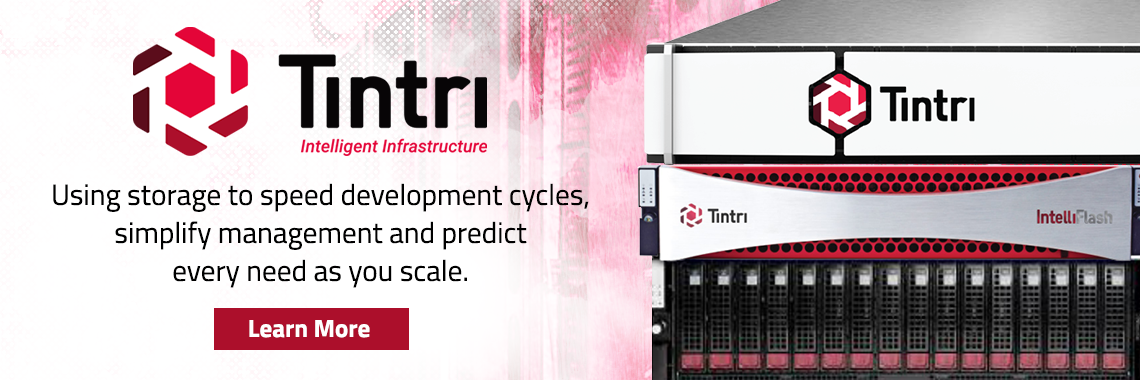 Tintri Analytics for IntelliFlash banner